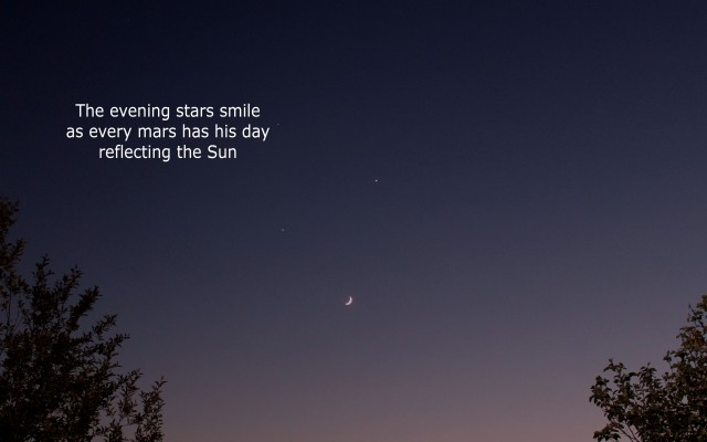 heavens smile haiku 3