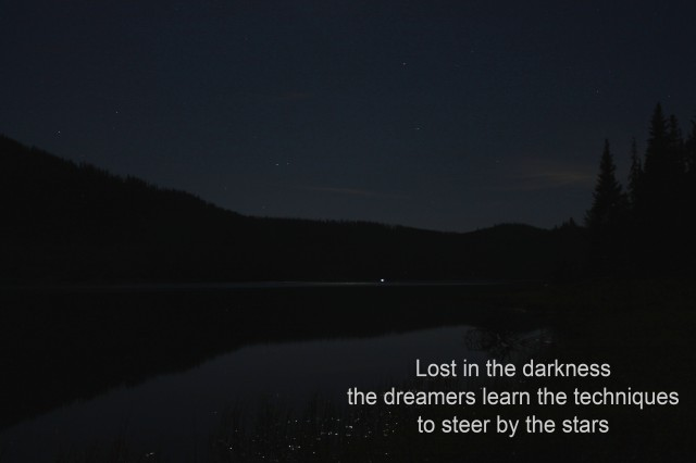 darkness haiku
