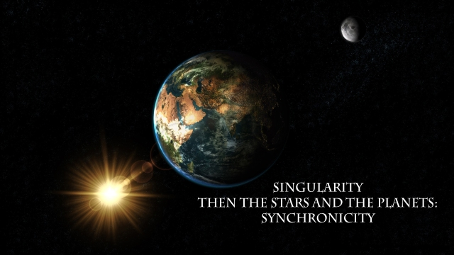 singularity-syncronicity haiku